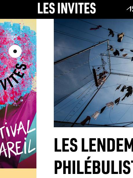 La Tangente au Festival Les Invites de Villeurbanne - 15 septembre